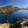 Lago Lacar, San Martin de los Andes, Neuquen, Region de Los Lagos. Patagonia Argentina