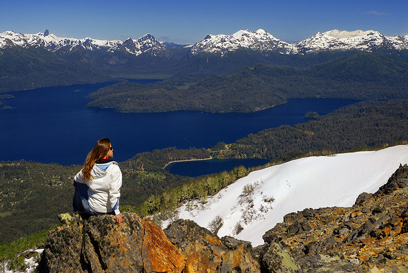 Cerro Bayo, Villa la Angostura, Neuquen,Region de Los Lagos. Patagonia Argentina