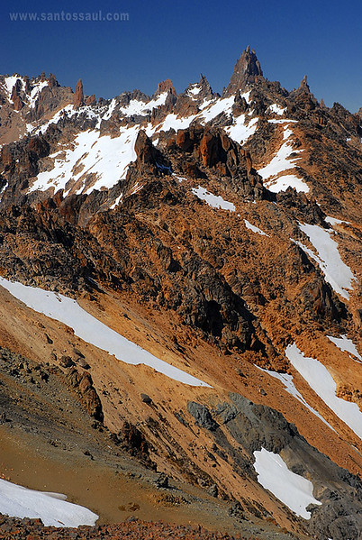 Cerro Catedral, Parque Nacional Nahuel Huapi, Rio Negro, Region de Los Lagos. Patagonia Argentina