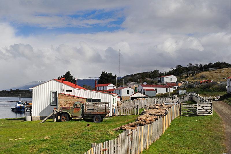 Estancia Heverton, Ushuaia, Tierra del Fuego, Patagonia. Argentina