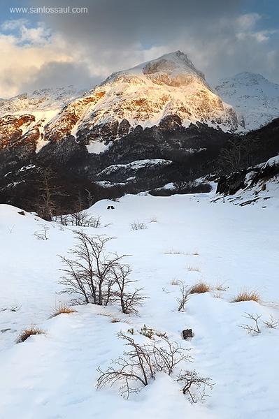 Paso Garibaldi, Tierra del Fuego, Patagonia. Argentina