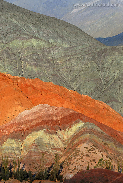 Purmamarca, Salta, Argentina. Altiplano Andino