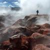 Géiseres Sol de Mañana, Reserva nacional de fauna andina Eduardo Abaroa. Bolivia