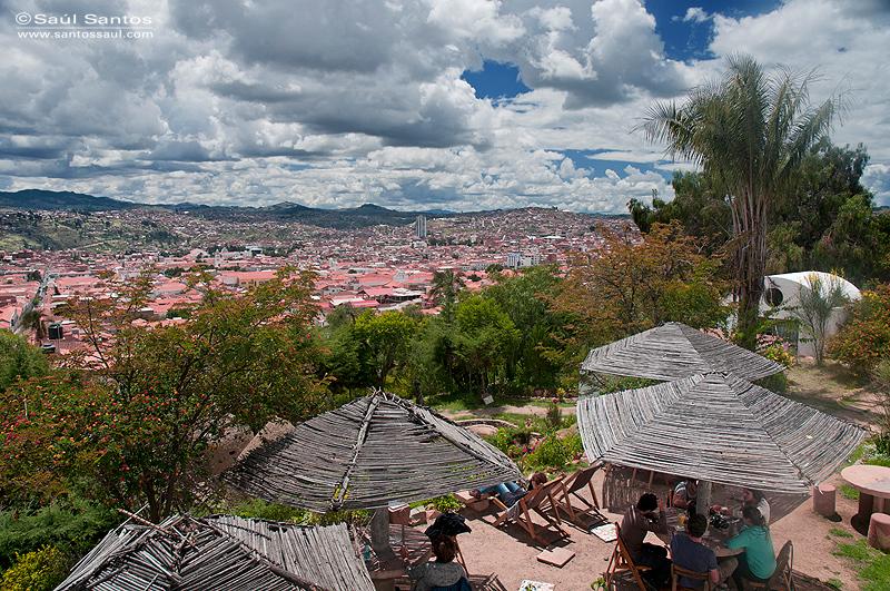 Mirador de Recoleta. Ciudad de Sucre. Bolivia