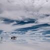 Salar de Uyuni en epoca de lluvia, Bolivia