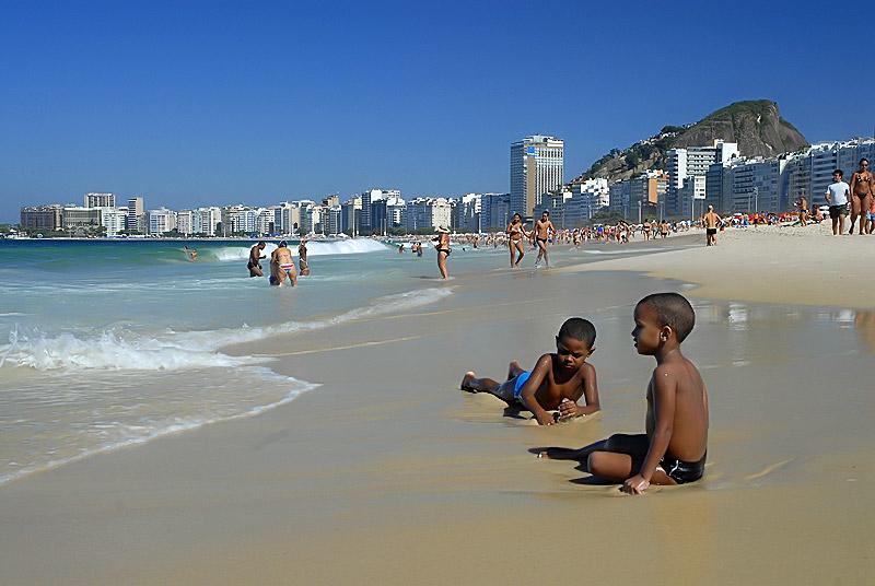 Copacabana, Rio de Janeiro. Brasil
