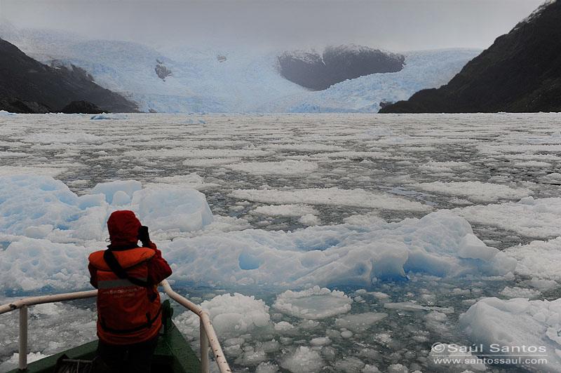 Fiordo Calvo, Glaciar Capitán Constantino, Viaje Skorpios III, Patagonia Chilena