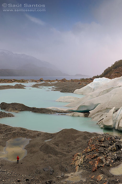 Canal de Las Montañas, Glaciar Bernal, Viaje Skorpios III, Patagonia Chilena
