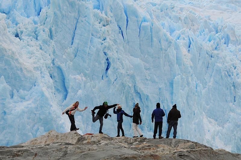 Glaciar Brujo, Viaje Skorpios III, Patagonia Chilena