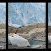 Rompimiento en el glaciar Brujo, Viaje Skorpios III, Patagonia Chilena