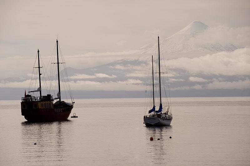 Puerto Varas y Volcan Osorno, Patagonia Chilena