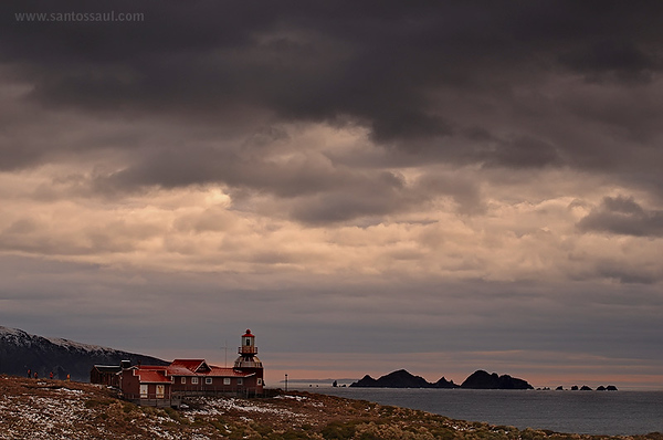 Faro de Cabo de Hrnos, Tierra del Fuego, Patagonia Chilena.