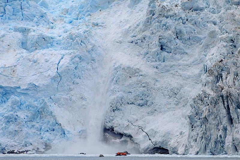 Glaciar Pia, Tierra del Fuego, Patagonia Chilena.