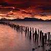 Amanecer en Puerto Natales, Patagonia Chilena
