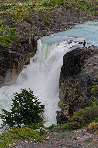 Salto Grande, Parque Nacional Torres del Paine. Patagonia Chilena