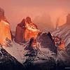 Amanecer, Parque Nacional Torres del Paine. Patagonia Chilena