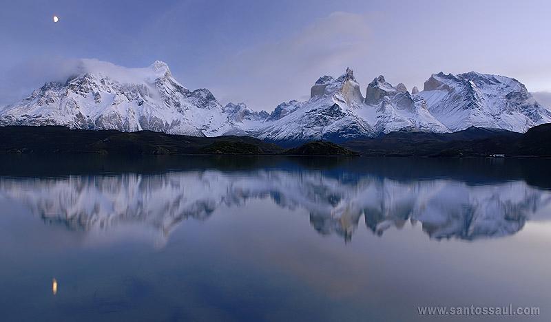 Laguna Peohe, Parque Nacional Torres del Paine. Patagonia Chilena