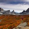 Otoño desde el Valle Frences, Parque Nacional Torres del Paine, Patagonia Chilena