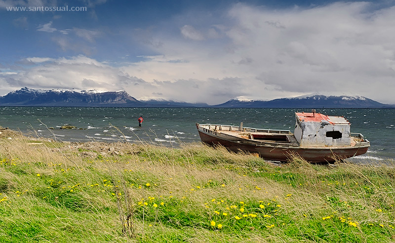 Puerto Natales, Patagonia Chilena. Chile