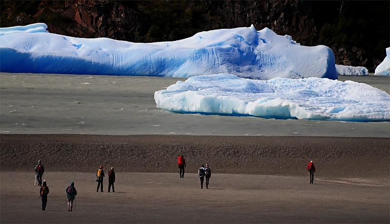 Lago Grey, Parque Nacional Torres del Paine. Patagonia Chilena