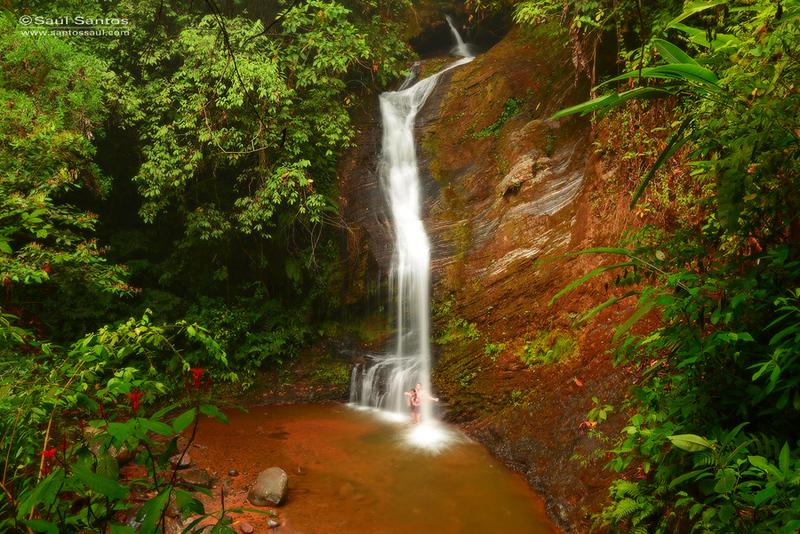 Salto del Indio, Parque Nacional de Los Farallones de Cali.  Cali, Colombia