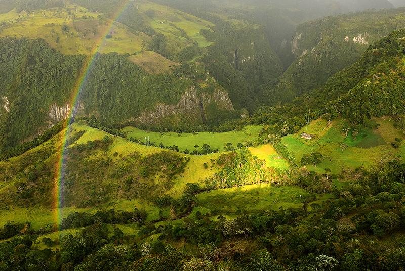Parque Nacional de Puracé, departamento del Cauca, Colombia
