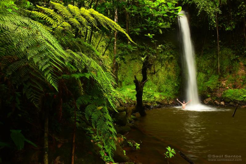 Cascada en el Departamento del Cauca, Colombia
