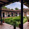 Finca Supracafe, patio colonial, Departamento del Cauca, Colombia