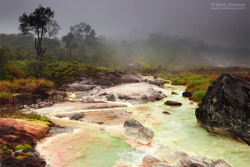 Termas de San Juan, Parque Nacional de Puracé, departamento del Cauca, Colombia