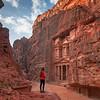 Ruinas de Petra, Jordan.