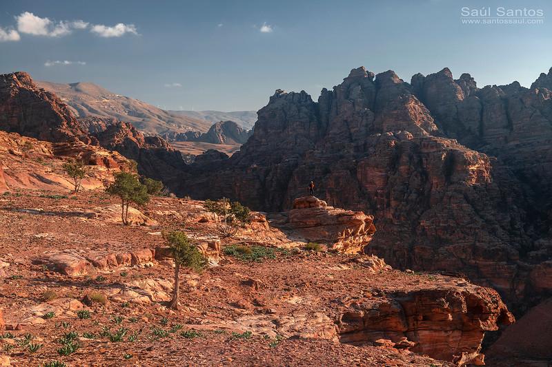 Ruinas de Petra. Jordan.