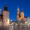 The Main Market Square, Krakow, Poland