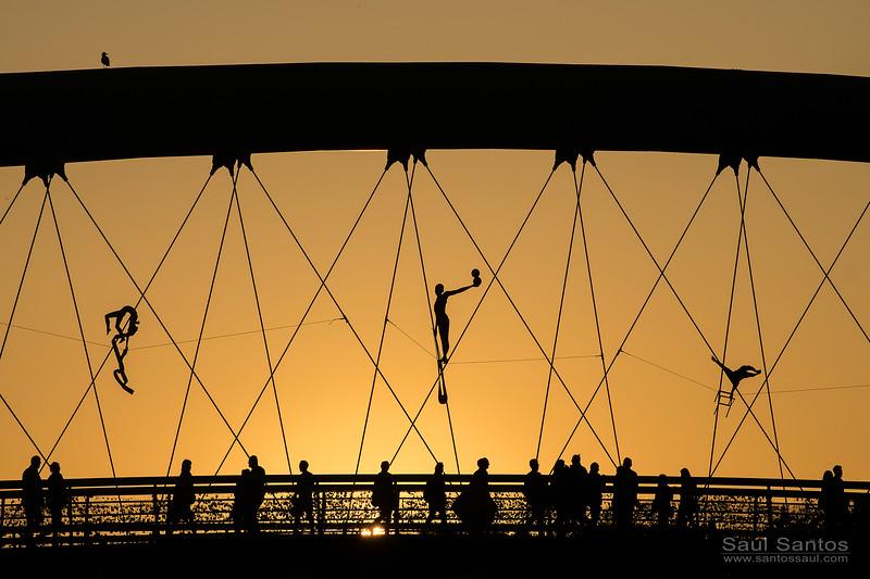Father Bernatek´s Bridge, (Pente del Amor o Puente del padre Bernatek) Krakow, Poland