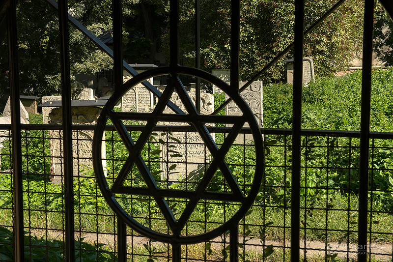 Jewish cementery, Warsaw, Poland