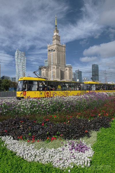 Palace of Cultere and Science, Warsaw. Poland