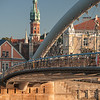 Father Bernatek´s Bridge, St. Joseph´s Church,  Krakow, Poland.