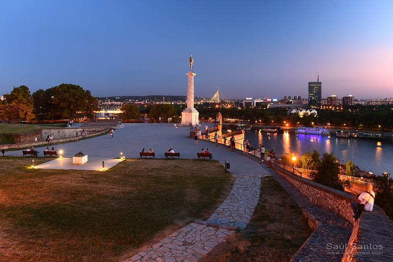 Kalemegdan, Belgrade, Serbia.