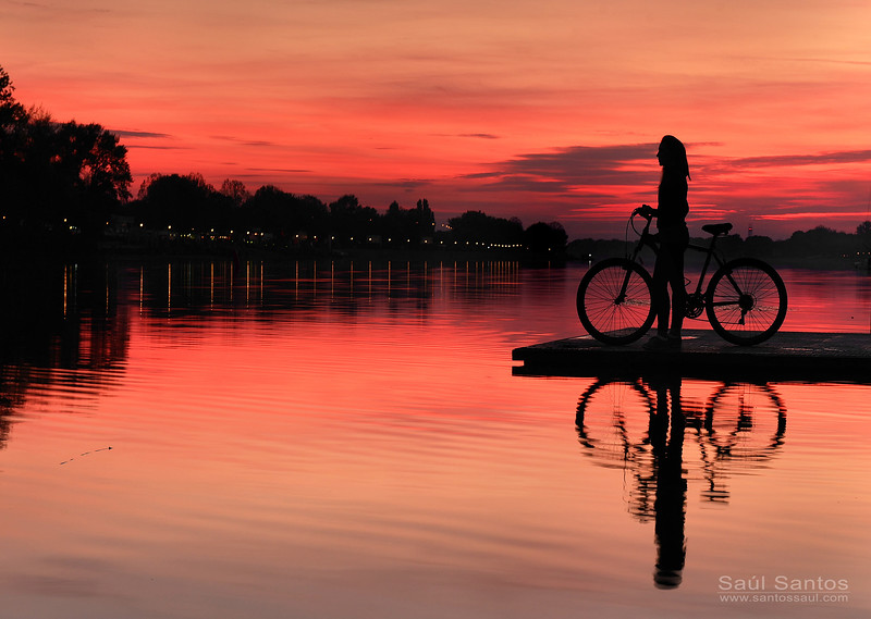 Lago Ada, Belgrade, Serbia.