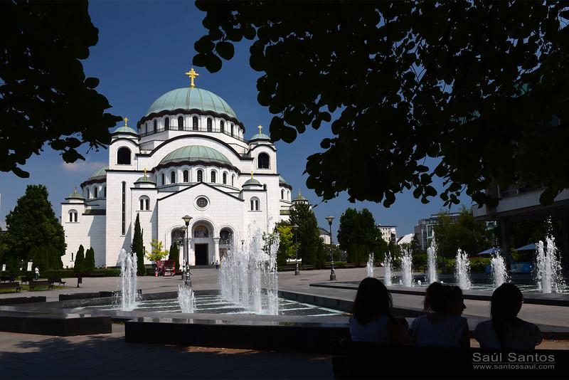 Saint Sava Temple, Belgrade, Serbia.