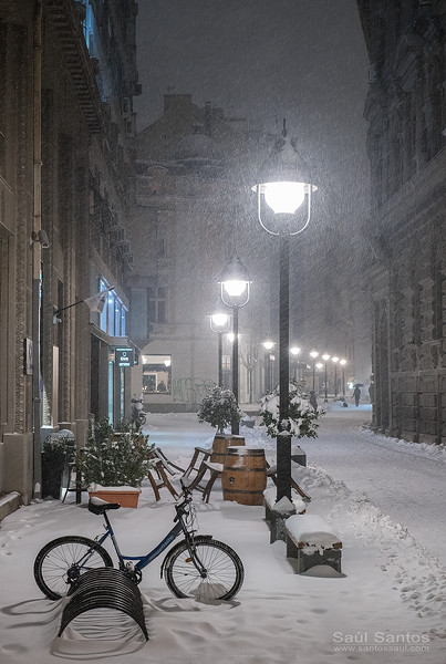 Belgrado en Invierno, Serbia.