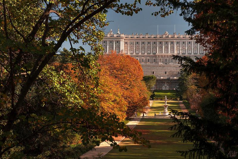 Jardines del Campo del Moro, Palacio Real. Madrid