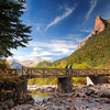 Pirineos, Parque Nacional de Ordesa, Rio Arazas-Pradera