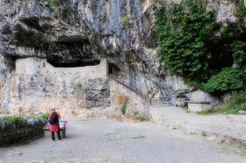 Pirineos, Parque Nacional de Ordesa, Añisclo, Ermita de San Urbez
