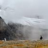 Pirineos, Parque Nacional de Ordesa, glaciar de Monte Perdido