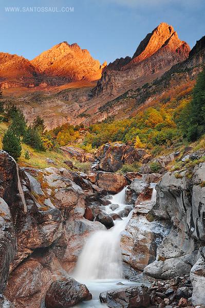 Pirineos, Parque Nacional de Ordesa, Valle de Pineta, Pico Pineta, 2.861m