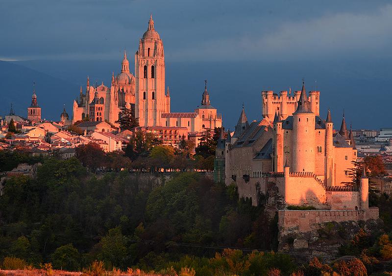 Ciudad de Segovia. España