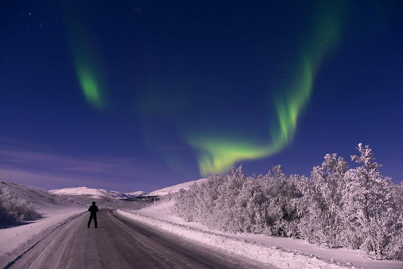 Aurora Boreales, Kiruna, Sweden
