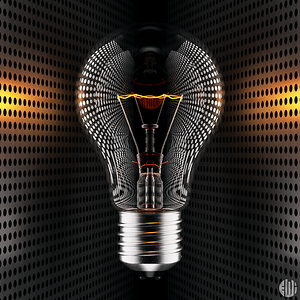3D lightbulb idea