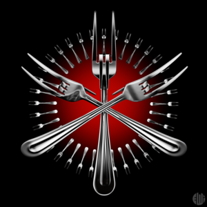 3D Fork Metal