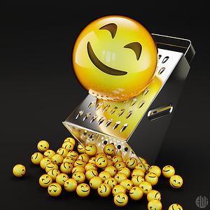 3D Happy Emoji Multiplier
